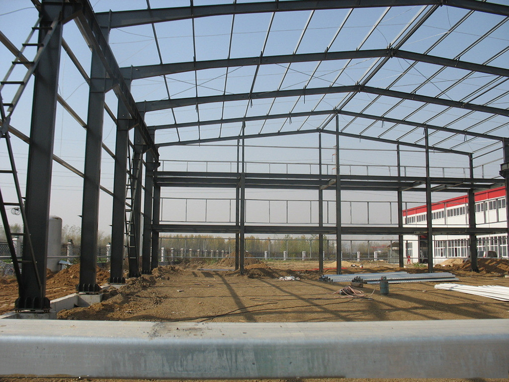 Prefabricated Steel Structure Design Warehouse Building