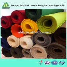 Красивые цвета, отличное качество пробитая иглой Non-woven красочные 100% шерсть войлок
