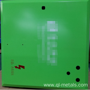 1.5mm SPCC Metal Products with Green Anodizing