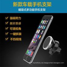 Mini soporte de teléfono móvil magnético para el uso del coche