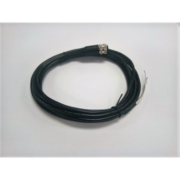 M12 4PIN kabel kalis air soket