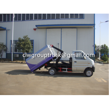 Changan 3CBM Container Hook Lift Garbge Truck
