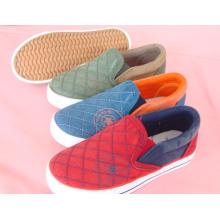 Chaussures en toile pour enfants Chaussures vulcanisées pour enfants (SNK-02048)