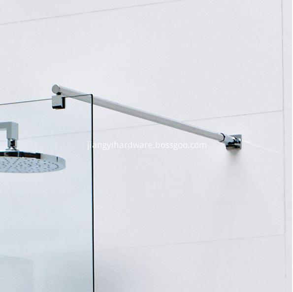 shower screen support bar
