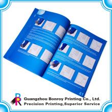 Publicidad de folletos a todo color / impresión de catálogo
