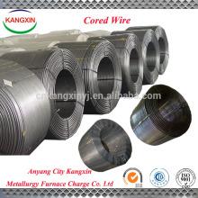 Calcio de silicio de alta calidad utilizado para la fabricación de acero / alambre con núcleo de SiCa