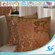 Housse de coussin en polyester tissé traditionnel