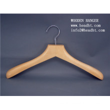2015 Cheap Price Natural Color Wooden Hanger