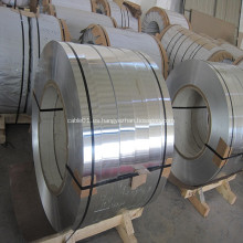 Tira de aluminio para pantalla de cable revestido y blindado