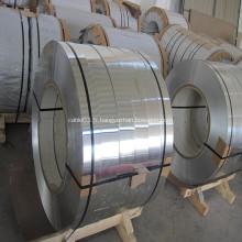 Bande d'aluminium pour écran de câble gainé et armé