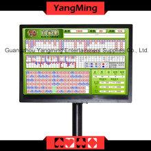 Baccarat Logo Result Display Casino Table (YM-EC04)