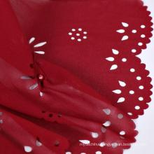 Fashion trend dubai muslim women hot arab muslim woman scarf wholesale lace cut bubble chiffon hijab shawl