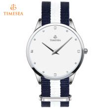 Montres pour bijoux pour femmes Nylon Band Luxury Brand Wristwatches Gift 71142