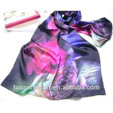 Cachecol de seda digital impressão Tongshi fornecedor alibaba china 2015 cachecol floral moda vestidos