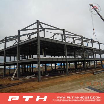 2015 Pth Design Steel Structure Warehouse con instalación fácil