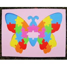 Niños bebé madera aprender geometría juguete educativo Puzzle Montessori
