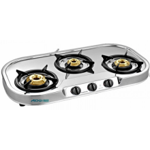 Pencucuhan Auto Spectra 3 Burner SS Gas Stove