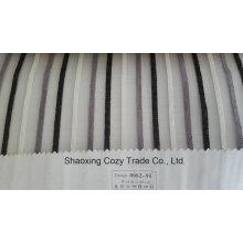 Neues Populäres Projekt Streifen Organza Voile Sheer Vorhang Stoff 008295