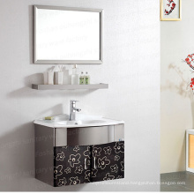 2021 Foshan Direct Sale Bathroom  Furniture Bathroom Cabinet Stainless Steel Bathroom Vanities  T-071