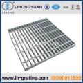 INMERSIÓN caliente galvanizada rejilla de acero, galvanizado acero enrejado piso