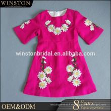 Последние Стиль высокого качества модель платья для девочек