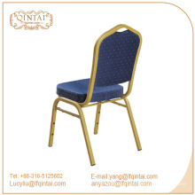 Venta al por mayor evento de alquiler de metal transparente banquete silla