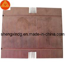Carimbo de calor de bronze de cobre do radiador do diodo emissor de luz Sx261