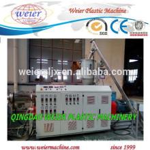 Linha de máquina extrusora de tubos de alimentação de água fria e quente PPR PE
