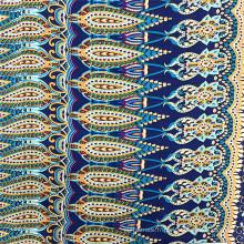Tissu populaire de vêtements pour femmes 100% rayonne imprimé vintage