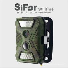 al aire libre inalámbrico gsm mms cámara de seguridad 12MP 720P con pilas acceso de telefonía de apoyo