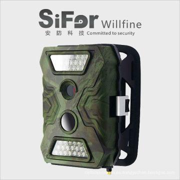 cámara de seguridad infrarroja inalámbrico con batería externa tarjeta SD trabajo de grabación con tarjeta SIM