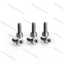 M3*10 hexagon socket/flat/button pan head titanium screws for hobby carbon rigid titanium screws