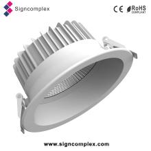 """China ESPIGA Rotatable do poder superior 6 """"/ 8"""" Gimble 30W Downlight do diodo emissor de luz"""