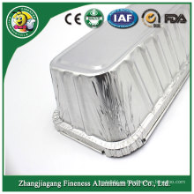 Envases de comida seguros del horno disponible de encargo utilitario de aluminio por encargo