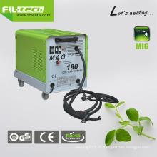 Soudeuse MIG à courant continu gaz / gaz sans gaz (MAG-130/150/170/190)