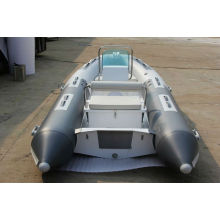 top rib boat rowing inflatable boat RIB360 wiht CE