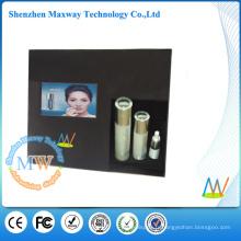 affichage publicitaire acrylique avec écran LCD 7 pouces lecteur vidéo