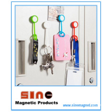 Innovation Silicone Button Fridge Magnet & Hook for Home