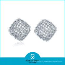 Boucles d'oreilles en diamant de charme