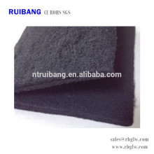 Fine activated carbon filter for air filteration