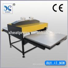Machine hydraulique de sublimation à haute pression hydraulique directement à l'imprimante de transfert de vêtements en tissu