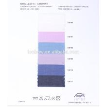 Großhandel 100% Baumwolle Garn gefärbt Hemdenstoffe