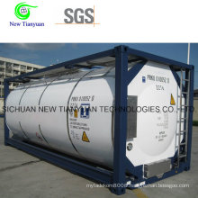 Liquifying Portable Container Cryogenic Tank Container
