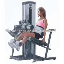 Equipamento de fitness comercial multi permanente máquina de bezerro Leg Extension