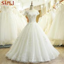 Vestidos nupciales de Alibaba del vestido de boda de SL-433 Vestidos de noiva