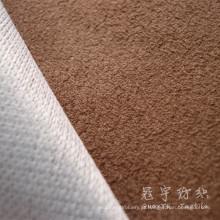 Matéria têxtil home tela do sofá de camurça de poliéster