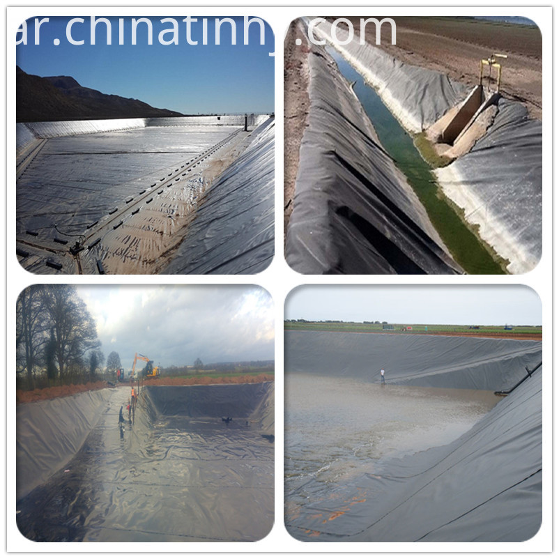 Geomembrans HDPE Construction Liner