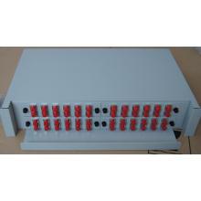 O 2U Pull-out Type ODF para 48 Portas