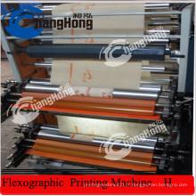 Machine à imprimer flexographique à 6 couleurs sans tissés