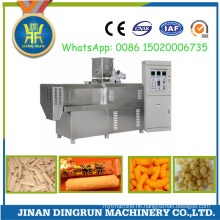 puffed snack food with peanut butter filling processing machine